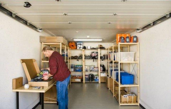 Garage Huren Almere : Opslagruimte garagebox bedrijfsunit almere almere fl