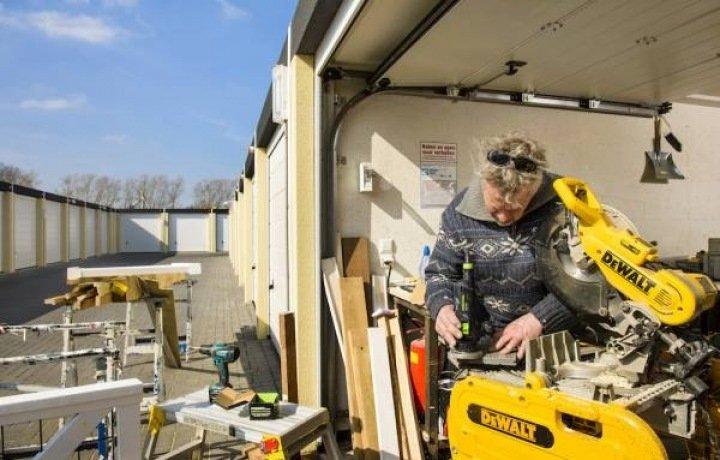 Opslagruimte, garagebox, werkruimte, bedrijfsruimte, Soest (Soest, U)   Bedrijfsvastgoed nl